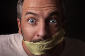 Gagged Man