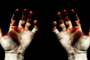 Hands In Blood