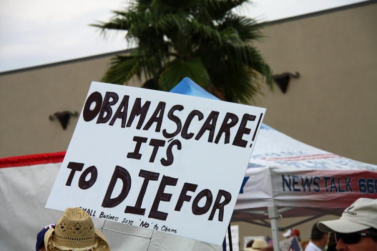 Obamascare Sign