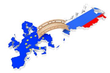 Bridge Between Europe And Russia