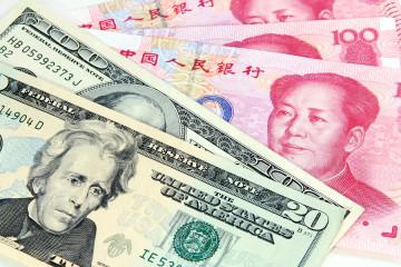US dollar vs Chinese RMB