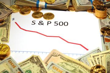 s&p 500 falling dropping