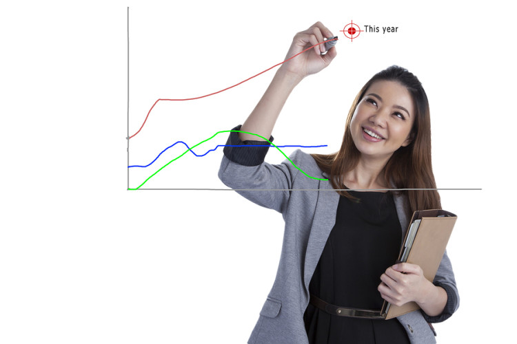 Business Success Growth Chart