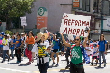 Immigration Reform Rally In The United States
