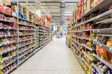 bigstock-Supermarket-Aisle-Food-68093437