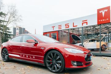 bigstock-Tesla-Model-S-Electric-Car-Zer-79464001