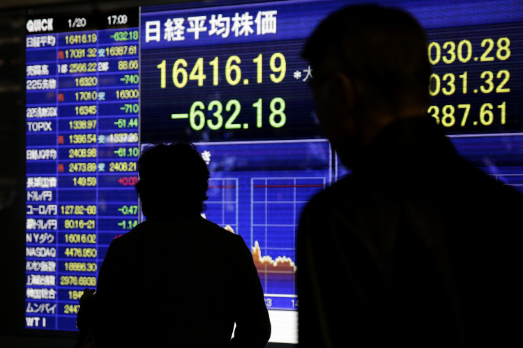 Japanese Stocks Plunge Into Bear Market As Global Rout Deepens