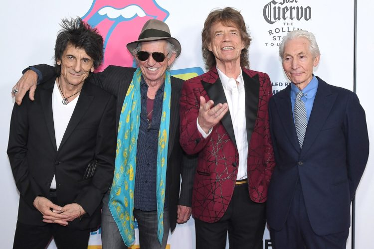 US-ENTERTAINMENT-THE ROLLING STONES EXHIBITIONISM