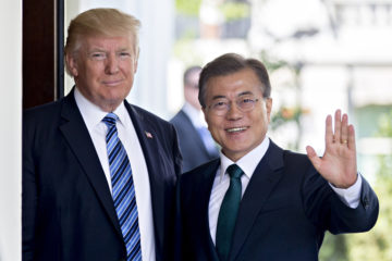 Trump Says U.S., South Korea Have 'Strong, Solid Plan' for North